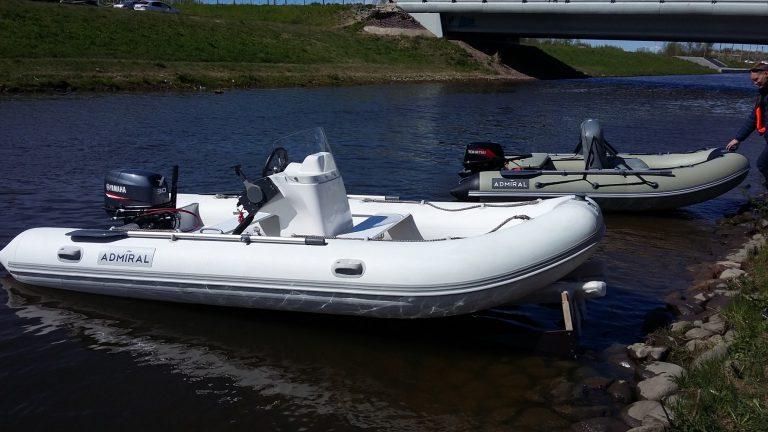 Подготовка лодки ПВХ к эксплуатации