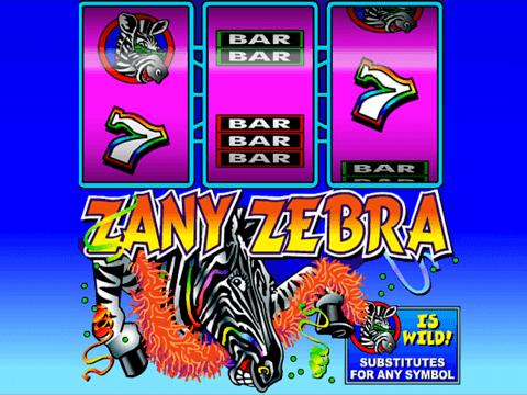 Игровой онлайн-слот Zany Zebra