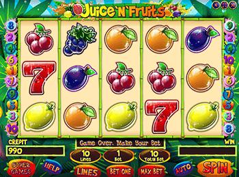Игровой автомат Juice'n'Fruits - фото № 1