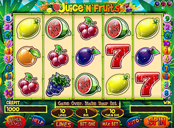 Игровой автомат Juice'n'Fruits - фото № 5