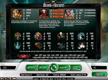Игровой автомат Blood Suckers - фото № 4