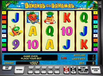 Игровой автомат Bananas go Bahamas - фото № 3
