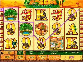 Игровой автомат Desert Treasure - фото № 2