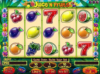 Игровой автомат Juice'n'Fruits - фото № 4