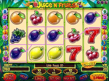 Игровой автомат Juice'n'Fruits - фото № 3