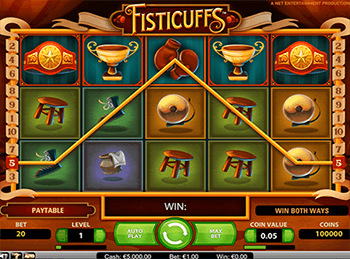 Игровой автомат Fisticuffs - фото № 1