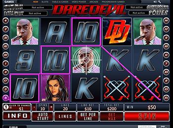 Игровой автомат Daredevil - фото № 1