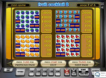 Игровой автомат Fruit Cocktail 2 - фото № 3