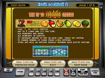 Игровой автомат Fruit Cocktail 2 - фото № 5