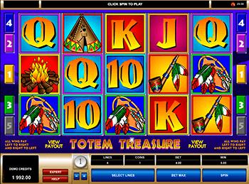 Игровой автомат Totem Treasure - фото № 1