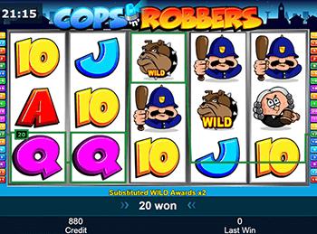 Игровой автомат Cops 'N' Robbers - фото № 1