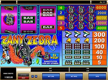 Игровой автомат Zany Zebra - фото № 2