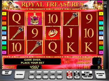 Игровой автомат Royal Treasures - фото № 2