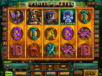 Игровой автомат Spirits Of Aztec - фото № 4