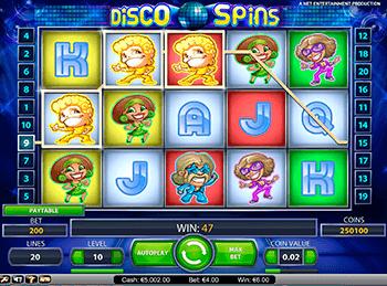 Игровой автомат Disco Spins - фото № 4