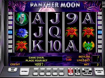 Игровой автомат Panther Moon - фото № 1