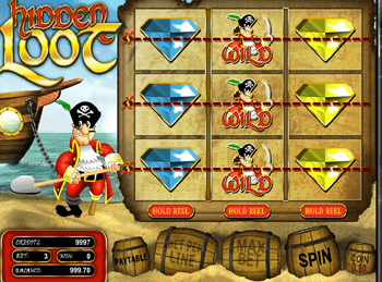 Игровой автомат Hidden Loot - фото № 3