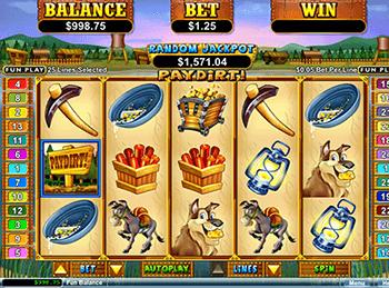 Игровой автомат Paydirt - фото № 2
