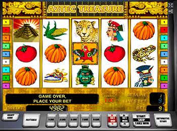 Игровой автомат Aztec Treasures 3D - фото № 5