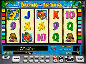 Игровой автомат Bananas go Bahamas - фото № 1