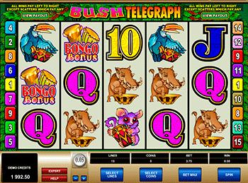 Игровой автомат Bush Telegraph - фото № 1