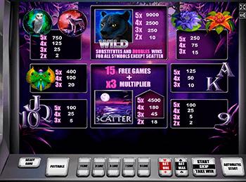 Игровой автомат Panther Moon - фото № 3