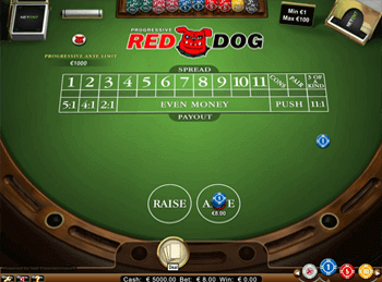 Игровой автомат Red Dog Progressive - фото № 1