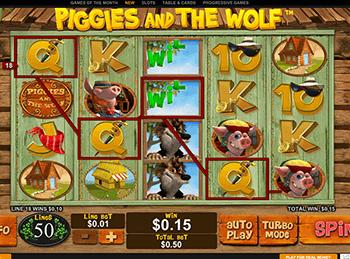 Игровой автомат Piggies And The Wolf - фото № 2