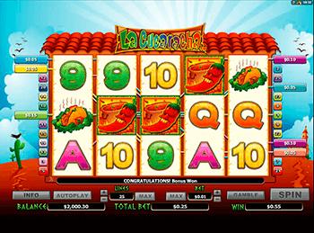 Игровой автомат La Cucaracha - фото № 3