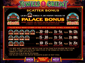 Игровой автомат Jewels Of The Orient - фото № 2