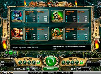 Игровой автомат Ghost Pirates - фото № 4