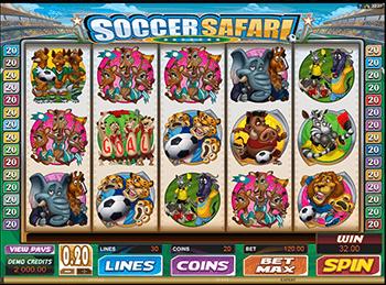 Игровой автомат Soccer Safari - фото № 3