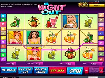 Игровой автомат A Night Out - фото № 4