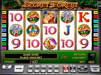 Игровой автомат Secret Forest - фото № 1