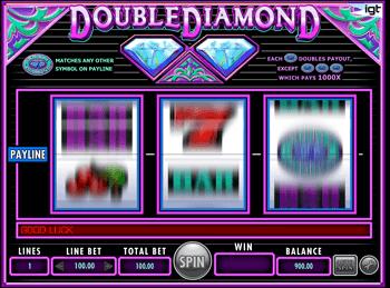 Игровой автомат Double Diamond - фото № 1