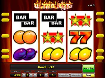 Игровой автомат Ultra Hot Deluxe - фото № 3