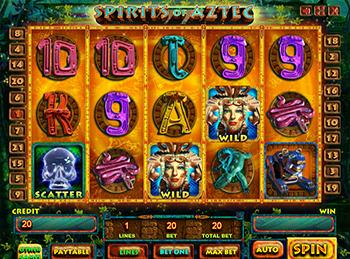 Игровой автомат Spirits Of Aztec - фото № 6