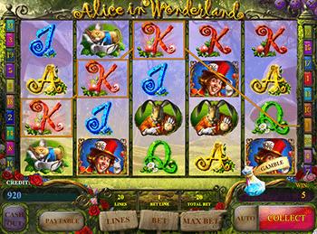 Игровой автомат Alice In Wonderland - фото № 2