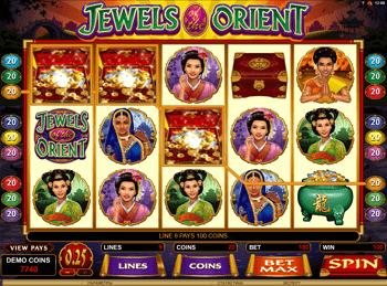 Игровой автомат Jewels Of The Orient - фото № 5