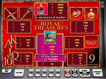 Игровой автомат Royal Treasures - фото № 4