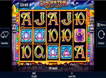 Игровой автомат Cleopatra Queen Of Slots - фото № 3