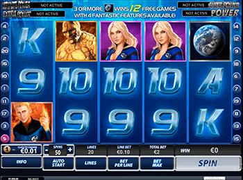 Игровой автомат Fantastic Four - фото № 3