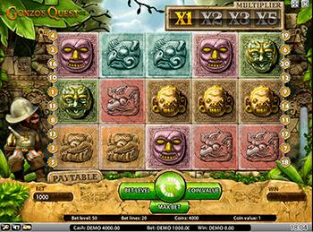 Игровой автомат Gonzo's Quest - фото № 1