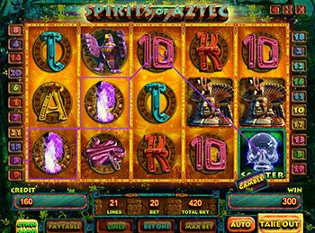 Игровой автомат Spirits Of Aztec - фото № 3