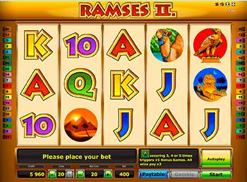 Игровой автомат Ramses II Deluxe - фото № 2