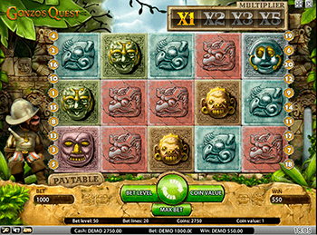 Игровой автомат Gonzo's Quest - фото № 6