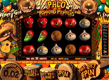 Игровой автомат Paco And Popping Peppers - фото № 2