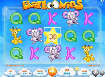 Игровой автомат Balloonies - фото № 1