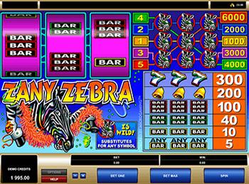 Игровой автомат Zany Zebra - фото № 5