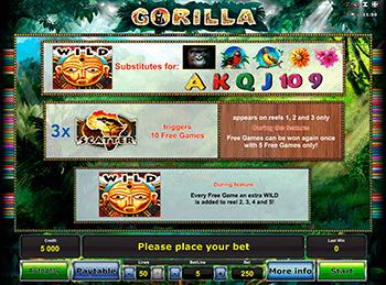 Игровой автомат Gorilla - фото № 1